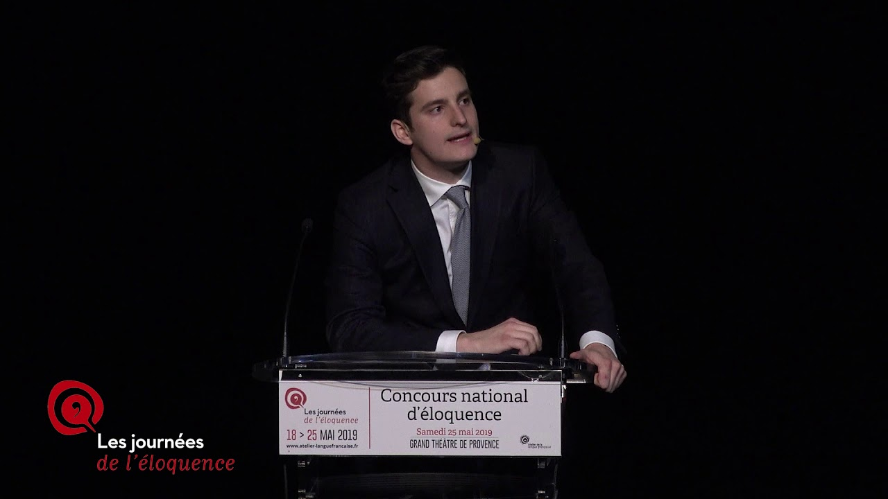 Concours national d'éloquence 2019