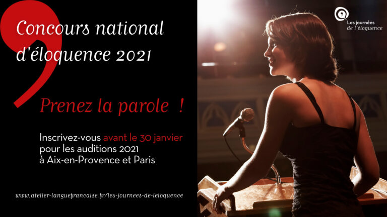 concours éloquence 2021