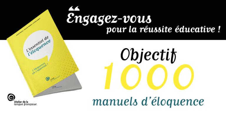 1000 manuels d'éloquence